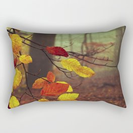 Leaves in Autumn Rectangular Pillow