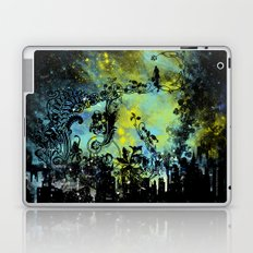 floral city gardener Laptop & iPad Skin