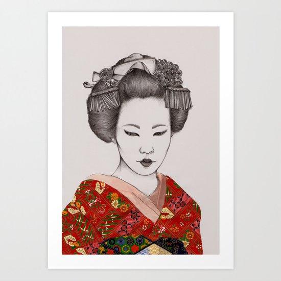 Paper Doll II Art Print
