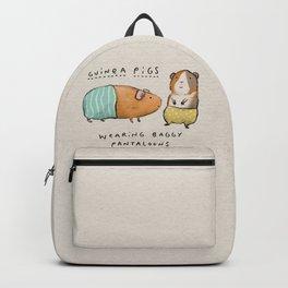 Guinea Pigs Wearing Baggy Pantaloons Backpack