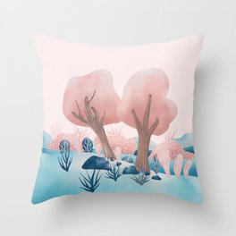 Winter landscapes 1 Throw Pillow