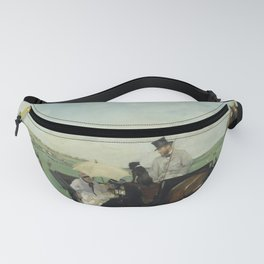 At the Races in the Countryside Fanny Pack