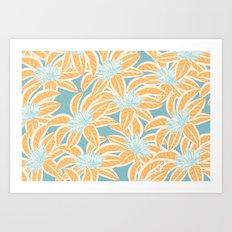 Sunny Tropics 3 Art Print
