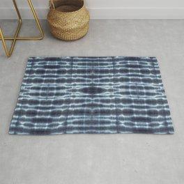Linen Shibori Stripes Rug