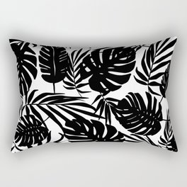 Urban Jungle White Rectangular Pillow