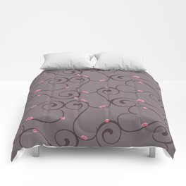 Amour Pattern Comforters