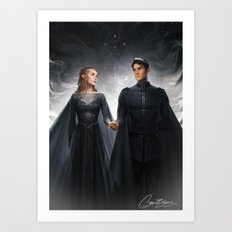 The Court of Dreams Art Print