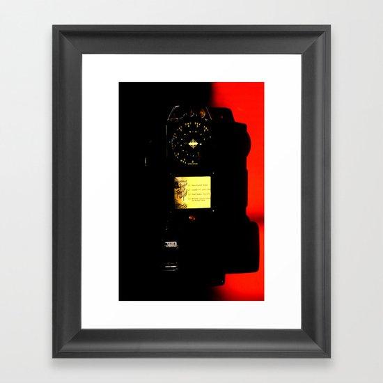 payphone #1 Framed Art Print