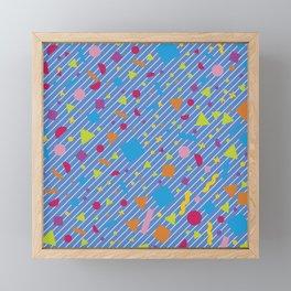 Geometric Figure Creation 15 Framed Mini Art Print