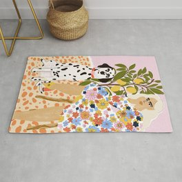 The Chaotic Life Rug