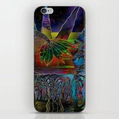 Doodlage 06 - Tropical Sundown iPhone & iPod Skin