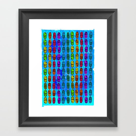Oh-See-Dee Framed Art Print