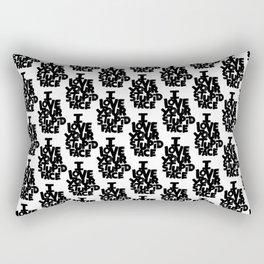 I LOVE YOUR STUPID FACE Rectangular Pillow