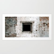 square hole Art Print