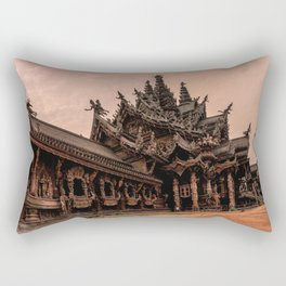 The Sanctuary of Truth Rectangular Pillow