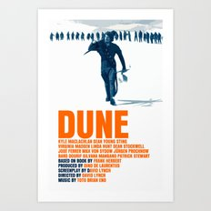 Dune Movie Poster David Lynch Art Print
