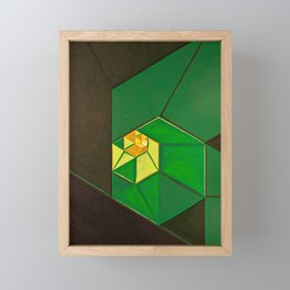 "South (""Elementals"" series) Framed Mini Art Print"