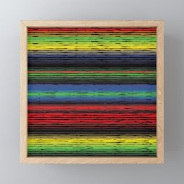 Allow Stripe To Fill Your Life Framed Mini Art Print