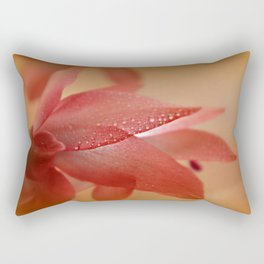 Cactus Blossom in Sunlight  Rectangular Pillow