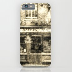 The Golden Lion Pub York Vintage Slim Case iPhone 6s