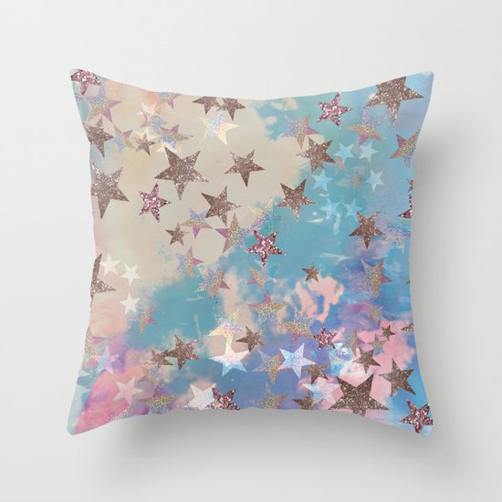 Starry Eyed Throw Pillow