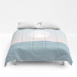 Pastel desert II Comforters