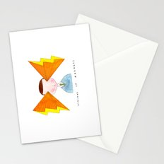 visions of radness Stationery Cards