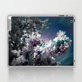 Flowers Purple & Teal Laptop & iPad Skin
