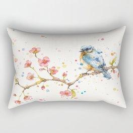 Little Journeys (BlueBird) Rectangular Pillow
