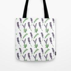 Lavender Pattern Tote Bag