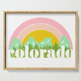 Colorado Serving Tray