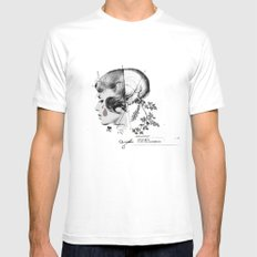 I Got A Knife MEDIUM Mens Fitted Tee White