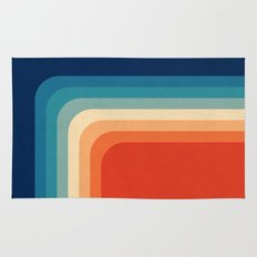 Retro 70s Color Palette III Rug