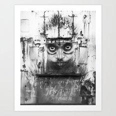 Boatface Art Print