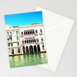 Ca' D'Oro Palace - Venice, Italy Stationery Cards