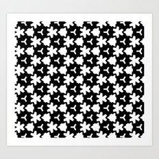 Weizigt Black & White Art Print