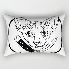 Cat Switchblade Rectangular Pillow