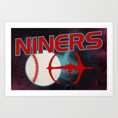 Niners Art Print