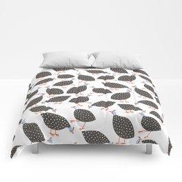 Guinea Hens Comforters