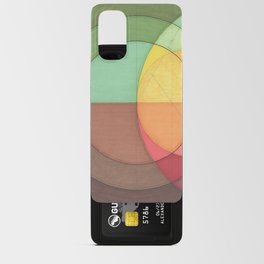 Concentric Circles Forming Equal Areas Android Card Case