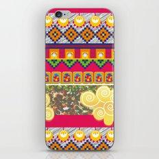 Futuro incierto, corazón contento! iPhone & iPod Skin