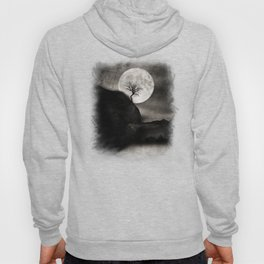 The Moon and the Tree.. Hoody