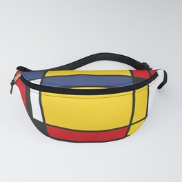 Downtown, Tribute to Mondrian Fanny Pack