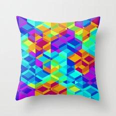 Geometric colour Throw Pillow