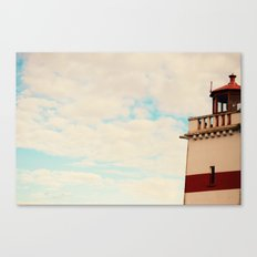 Find my light Canvas Print