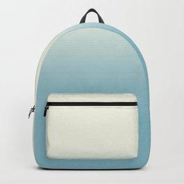Ombre Blue Petit Four Gradient Motif Backpack