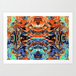 Jungle Queen 2 Art Print