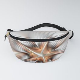 Elegance of a Flower, modern Fractal Art Fanny Pack