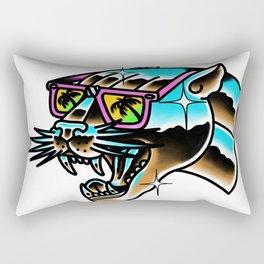 Chrome panther Rectangular Pillow