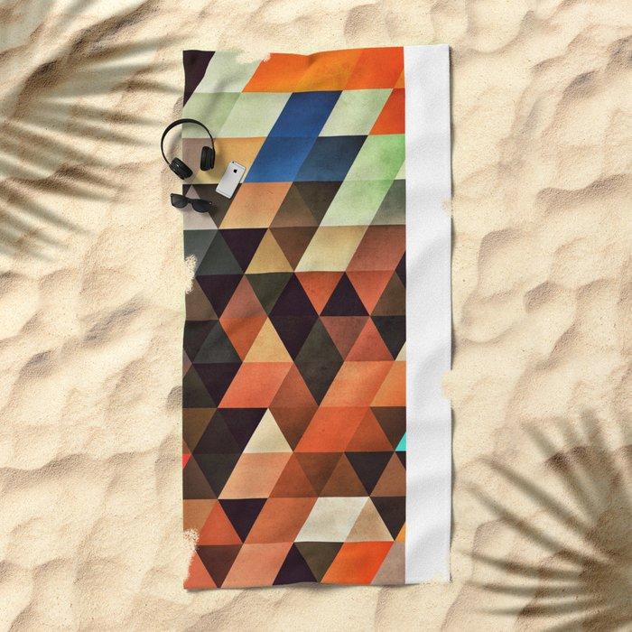 trynxfyrmx Beach Towel